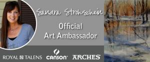 Sandra L Strohschein Named Ambassador For Rembrandt And Canson